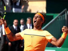 Rafael Nadal in Monte Carlo