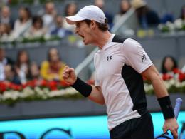 Murray eliminiert Nadal, Djokovic zieht nach