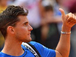 Federer hat Rücken: Thiem besiegt sein Idol