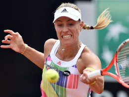 French Open: Gef�hrlicher Start f�r Kerber