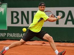 Aus in Runde eins: Becker steht im Regen