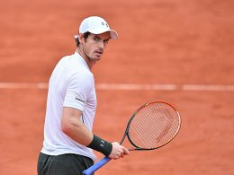 Murray im Viertelfinale - Regen in Paris
