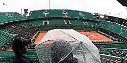 Washout: In Paris kann am Montag nicht gespielt werden, ein Dach fehlt in Roland Garros. Doch warum eigentlich?