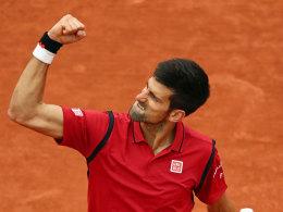 Eins gegen zwei: Murray und Djokovic im Finale