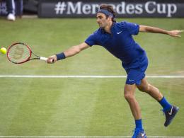 Federer k�mpft Mayer nieder - Kohlschreiber siegt