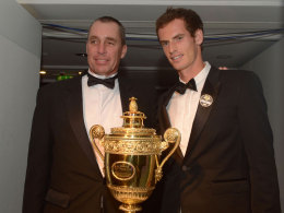 Ivan Lendl und Andy Murray