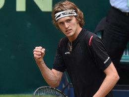 Doppel-Sensation! Zverev wirft Federer raus, Mayer Thiem