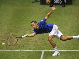 Kohlschreiber trotz Verletzung wohl in Wimbledon dabei
