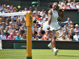 Serena Williams: Lockerer Auftakt