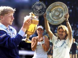 Kerbers Vorg�nger: Die deutschen Wimbledon-Finalisten
