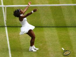 Serenas Triumph, Kerbers Wunderschlag: Das Finale im Ticker