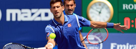 Steigt am Mittwoch in die Einzel-Konkurrenz des Masters in Toronto ein: Novak Djokovic.