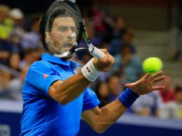 Tsonga gibt auf: Djokovic im Halbfinale