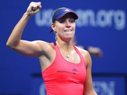 Kerber als Nummer eins im US-Open-Finale