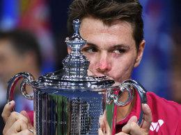 Final-Drama: Wawrinka ringt blutenden Djokovic nieder