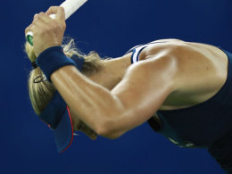 Umsonst gekämpft: Angelique Kerber haderte gegen Petra Kvitova immer wieder mit sich selbst.