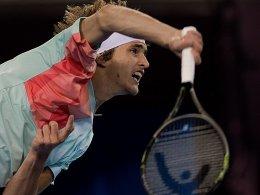 Zverev verpasst gegen Ferrer den Halbfinaleinzug