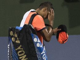 ATP sperrt Kyrgios für acht Wochen - mit Hintertür
