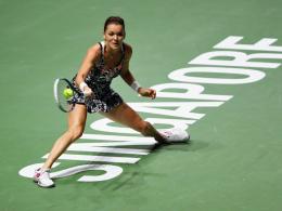 Radwanska meldet sich zurück: Endspiel gegen Pliskova