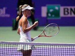 Coole Kerber im Finale - Cibulkova wartet
