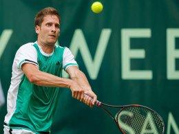 Mayer blüht in Halle auf - Duell mit Topfavorit Federer