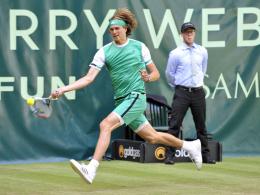 Traumfinale für Zverev gegen Federer