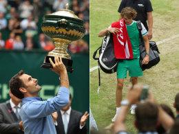 Lehrstunde in 52 Minuten: Federer zerstört Zverevs Traum