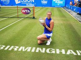 Plötzlich Wimbledon-Mitfavoritin: Kvitovas märchenhaftes Comeback