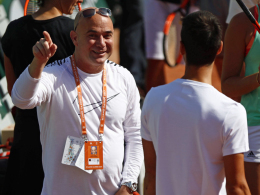 Agassi auch in Wimbledon in Djokovics Team