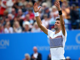 Djokovic steht in Eastbourne im Finale