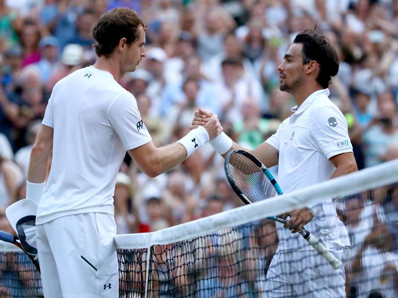 Nadal im Wimbledon-Achtelfinale