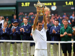 Rekordhalter! Federer gewinnt zum achten Mal Wimbledon
