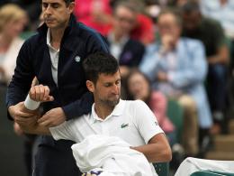 Der Ellenbogen: Djokovic beendet Saison vorzeitig