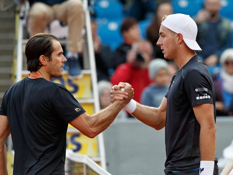 Frust beim Tennis-Oldie | Kein Spaß mehr bei Haas?