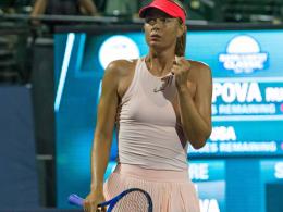 Sharapova erhält Wildcard für Peking