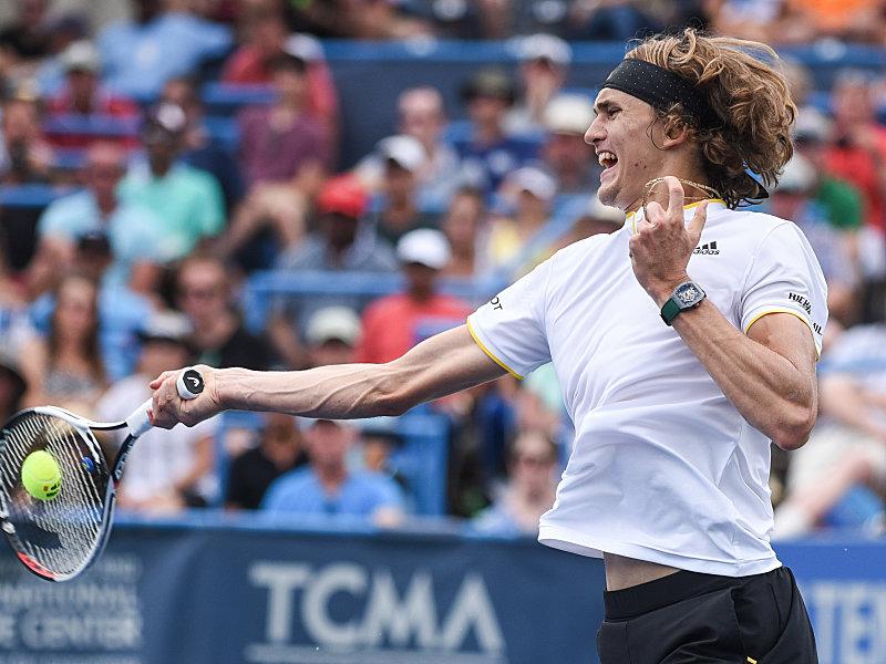 Alexander Zverev im Viertelfinale in Montreal