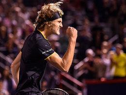 Sechstes Endspiel 2017! Zverev im Traumfinale gegen Federer