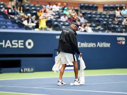 Wegen Regen: US-Open-Partien auf Mittwoch verschoben