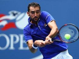 Verflixte US Open: Auch Wimbledon-Finalist Cilic raus