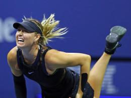 Sharapova giftet gegen Wozniacki zurück