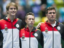Becker-Premiere: Im Davis-Cup ohne Zverev-Brüder und Kohlschreiber