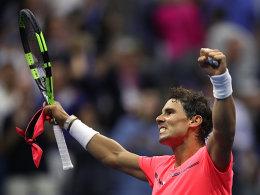Nadal gibt nur fünf Spiele ab - Halbfinale!
