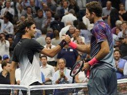 Del Potro stoppt Federer