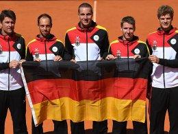 Davis-Cup-Relegation: Stebe startet gegen Joao Sousa