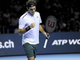 Deutsches Trio raus - Federer macht's besser