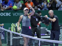 Sieg gegen Pliskova: Wozniacki greift nach dem Titel