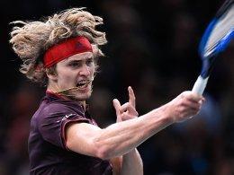 ATP-Finals: Zverev in einer Gruppe mit Federer
