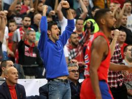 Vorbild Federer: Djokovic kehrt auf den Court zurück