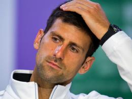Wieder der Ellenbogen: Djokovics Comeback verschoben