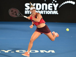 Kerber steht im Halbfinale von Sydney
